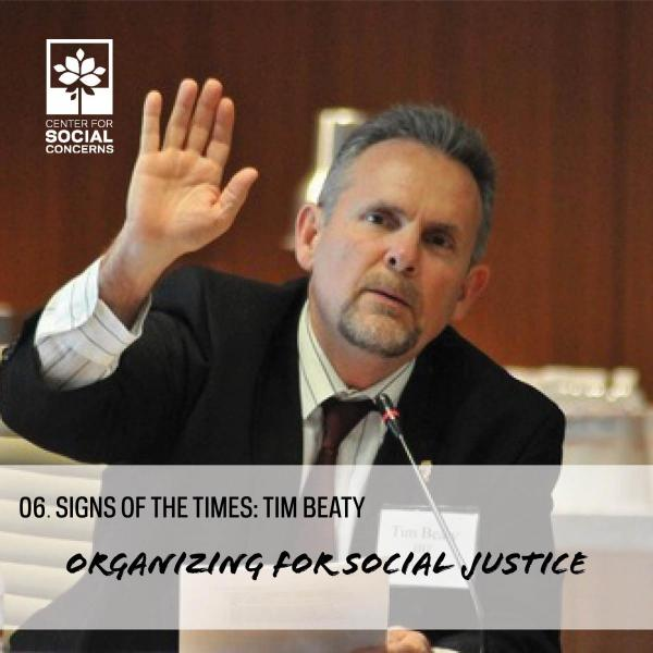 Our guest on today's episode is Tim Beaty, an ND grad and Director of Global Strategies for the International Brotherhood of Teamsters. Tim has spent the past 30 years organizing for social justice in the U.S. labor movement. He shares how this career path was ignited by his friendship with Fr. Don McNeill, C.S.C. and involvement in the early days of the Center for Social Concerns, as well as his time in Peru during his junior year working with Holy Cross Priests to experience poverty, theology, and economi